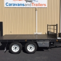 """12' x 6'6"""" Table Top Tipper With Drop Sides"""