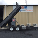 """14' x 6'6"""" Table Top Tipper With Drop Sides"""