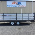 """20' x 6'6"""" Table Top With Alloy Crate"""