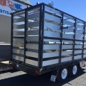 """14' x 6'6"""" Table Top With Twin Deck Stock Crate"""