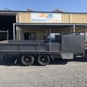 16' x 8' Table Top Trailer With Custom Toolbox