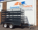 Tandem Axle Box With Cattle Crate