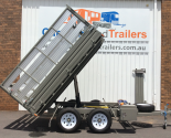 Table Top Tipper With Drop Sides & Crate