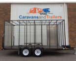 Custom Lawn Mower Tandem Axle Trailer
