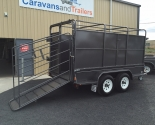 Tandem Axle Box With Bull Crate