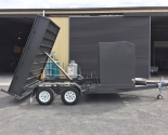 Custom Box Tipper With Front Enclosed Tool Room