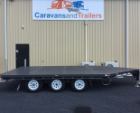 Tri-Axle Table Top Plant Trailers