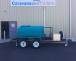 Custom Fire Fighting Trailer