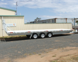 Tri-Axle Table Top Trailers