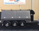 Tradesman's Tri-Axle Trailer