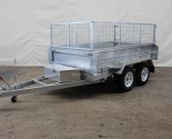 Galvanised Tandem Axle Box Tipper Trailers