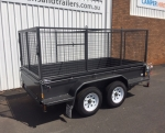 Tandem Axle Box Trailers
